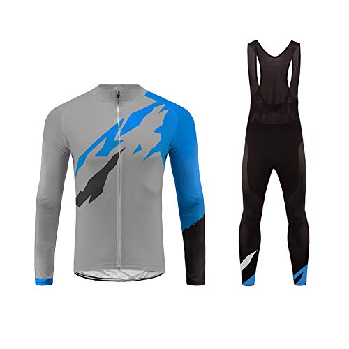 Uglyfrog Magliette Uomo Manica Lunga Ciclismo Magliette+Lunga Pantaloni da Ciclismo Body Inverno Style ZRMX05