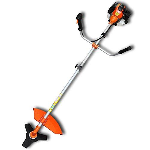 VidaXL 141003 2200W Gasolina Naranja cortabordes y desbrozadora - Cortacésped Naranja, 1,2 L, Gasolina...