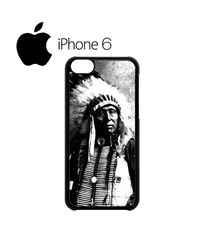 Indians Chief Native Americans Swag Mobile Phone Case Back Cover for iPhone 6 White Blanc