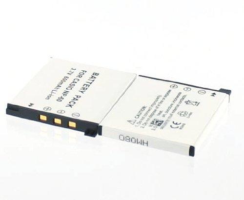 Digitalkamera-Akku CASIO NP-60, Li-Ion, 600mAh