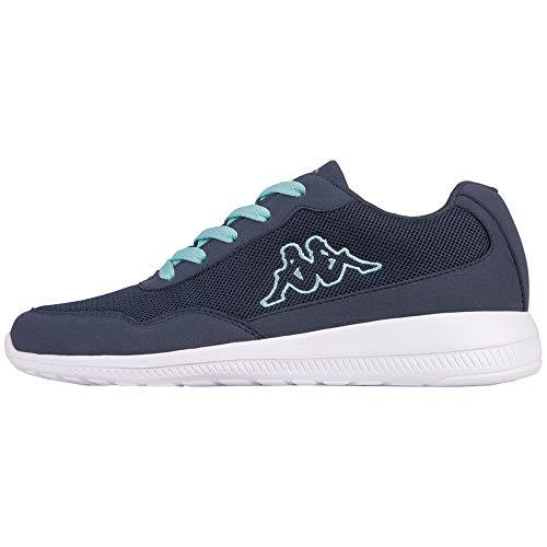Kappa Follow, Sneaker Unisex - Adulto, Blau (6737 Navy/Mint), 38 EU