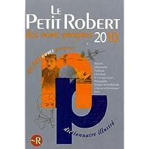 PETIT ROBERT NOMS PROPRES 2010
