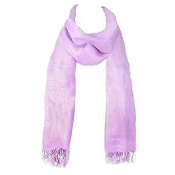 Ladies Soft Plain Viscose Pashmina Scarf Shawl Wrap Stole Lavender