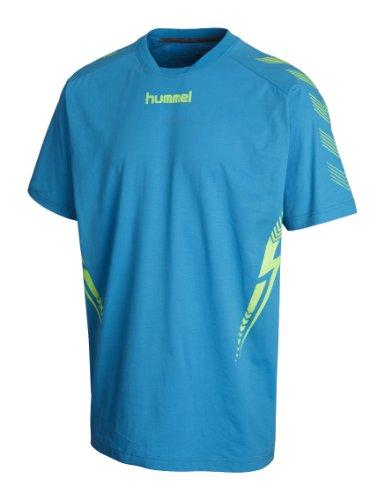 Hummel T-Shirt Aw13 Bleu atomique