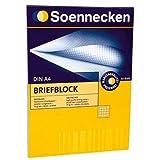 SOE Briefblock 1382 50 Bl. 70g A4 hf kariert
