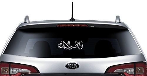Voiture De Bismillah Brise Pour Allah Pare Islam Autocollant Arrière IfgmYbyv76
