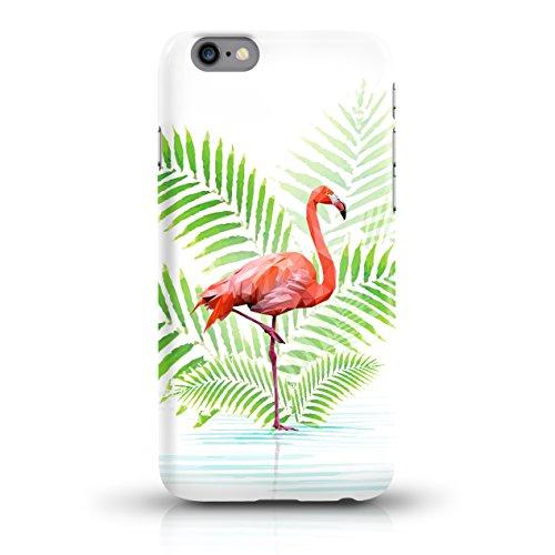 """JUNIWORDS Handyhüllen Slim Case für das iPhone 7 - """"Bunter Elefant schwarz"""" - Handyhülle, Handycase, Handyschale, Schutzhülle für Ihr Smartphone Flamingo und Palmblätter"""