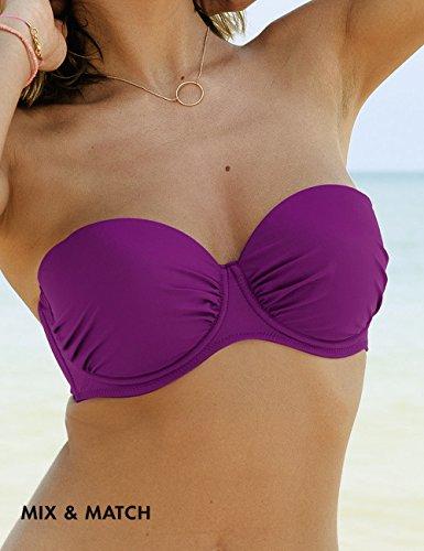 Rosa Faia Damen Bikinioberteil Bikini-Oberteil Cosima Rosa (wild Aster 556)