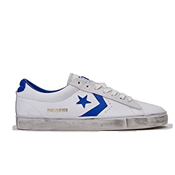 Converse Sneakers Uomo Pro Leather Vulc art. 160928C col. bianco/blu