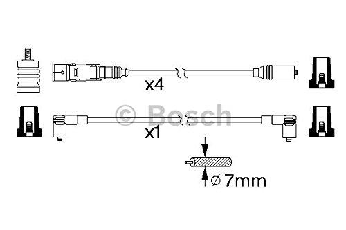Bosch 0 986 356 338 Zündungskabel