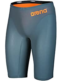 arena Powerskin R-Evo One Jammer Men Grey-Bright Orange 2019 Badehose grau Herren-Schwimmsport-Produkte Schwimmen