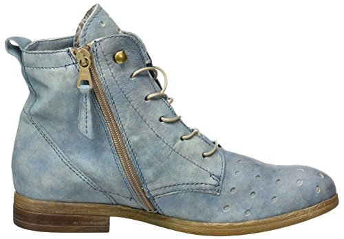 Mjus Damen 884219-0101 Biker Boots Blau (Surf)