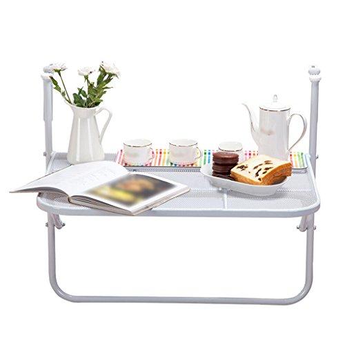 Tavolino Pieghevole Da Ringhiera.Folding Table Tavolo Pieghevole Da Balcone Ringhiera Piccolo Tavolo Appeso Casual Tavolino Da Appoggio A Parete Appeso A Cremagliera Tavolo Da Te