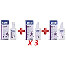 3 X GOIBI XTREME ANTIMOSQUITOS TROPICAL LOCION REPELENTE 75 ML
