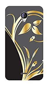 SWAG my CASE PRINTED BACK COVER FOR MICROMAX A106 Multicolor