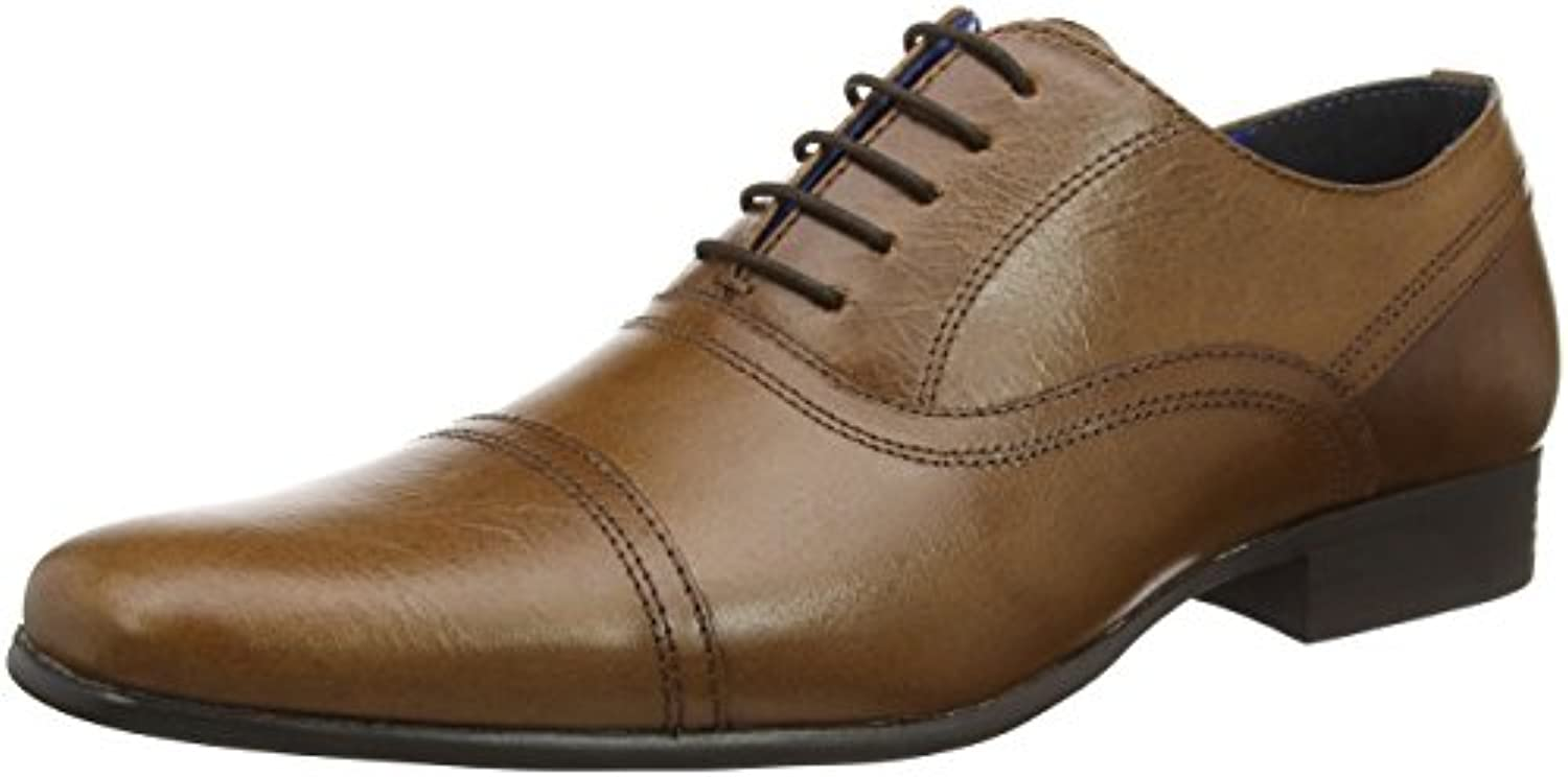 Red Tape Herren Almond Oxfords  Braun