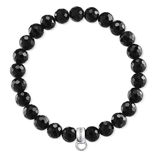 Thomas Sabo Damen-Armreifen Künstliche Perle X0220-840-11-L18,5 (Cinderella Schmuck-box)