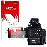 upscreen Scratch Shield Protector Pantalla Canon Cinema EOS C100 Mark II Película – Transparente, Anti-Huellas