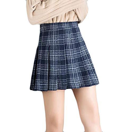 a27eeb8a2 ▷ Falda Escocesa Azul para Comprar al Mejor Precio - Wampoon Guía ...