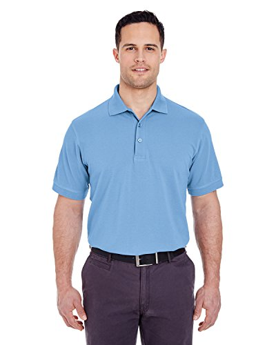 UltraClub Herren Poloshirt Cornflower