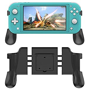 FASTSNAIL Klappgriff für Nintendo Swtich Lite, Hand Grips für N-Switch Lite mit 2 Kartuschen