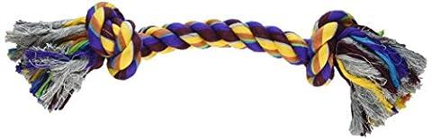 Aspen/Booda Corporation DBX50775 2-Knot Rope Bone Dog Chew Toy