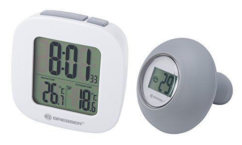 Bresser Badthermometer mit Silikon Funk-Wassersensor