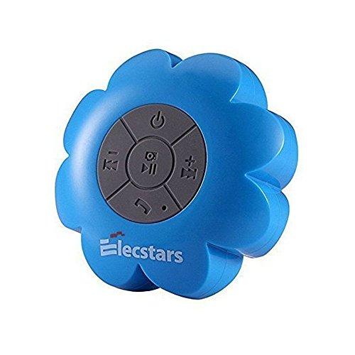 Ducha Altavoz, elecstars resistente al agua altavoz manos libres portátil inalámbrico Bluetooth Altavoz impermeable con ventosa, fuerte, el mejor regalo para las mujeres adolescentes niños niños niñas niños (azul)