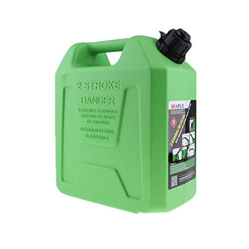 Tubayia 5L/10L Tragbar Kraftstofftank Benzin Kanister Aufbewahrungsbox für Auto Motorrad Boot (5L) (Boot Gas Tank Zubehör)