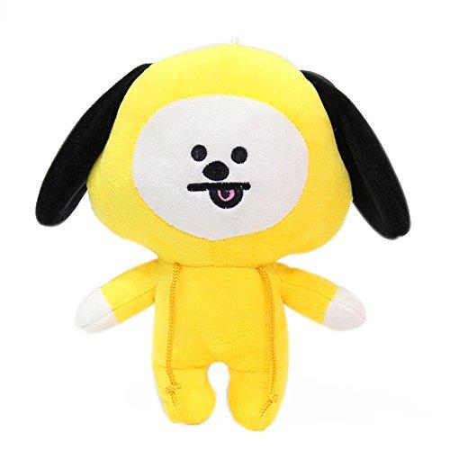 (Yovvin BTS Plüschtiere, Kpop Bangtan Jungen Weiche Plüsch Kissen Puppe für Sofa Schlafzimmer Auto, Beste Geschenk für The ARMY (CHIMMY))