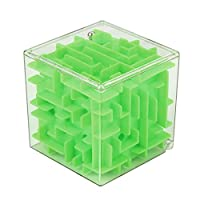 Kid Birthday Gift 3D Cube Puzzle Maze Toy Hand Game Case Box Fun Brain Game Challenge Fidget Toys by Kinlene