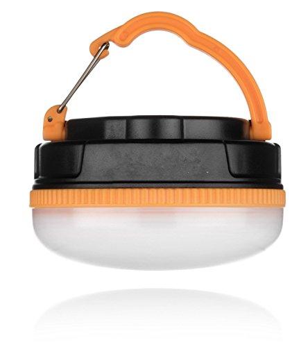 Vinus® Built-in 1800mAh rechargeable USB LED Camping urgence Lanterne avec 5 modes (100%, 50%, 30%, stroboscope, SOS), Magnétique Base, Randonnée et Voyage Essential, Blanche Éclairage
