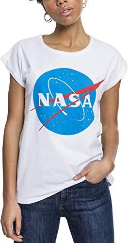 Mister Tee Mujeres Ropa Superior/Camiseta NASA Insignia