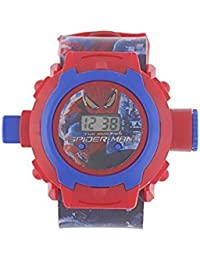 NEW SPORT TYPE OF SPIDER MAN WITH IN THE 24 IMAGES OF BOYS AND KIDS WATCH WITH THE BEST DEAL AND FAST SELLING