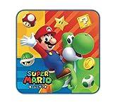 Marushin Super Mario Mini Handtuch (Mario und Yoshi) 6490969