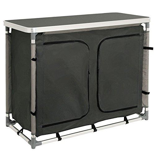 CampFeuer - Campingschrank, Campingküche mit Aluminiumgestell