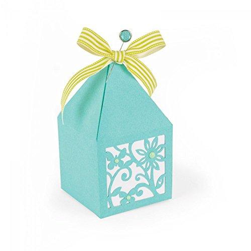 Sizzix 661240 Blütenblatt Schachtel Thinlits Stanzestanze, Stahl, mehrfarbig, 29 x 14 x 0.1 cm (Stanze Blütenblätter)