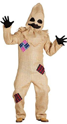 Böse Vogelscheuche Halloweenkostüm Hoodie Tasche (Vogelscheuche Overall Kostüm)