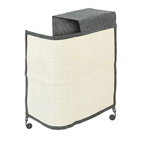 Navaris Katzen Kratzmatte Kratzschutz Sofa rechts - Sisal Kratzteppich für Katze - Sessel Couch Katzenkratzmatte - auch für Hunde geeignet