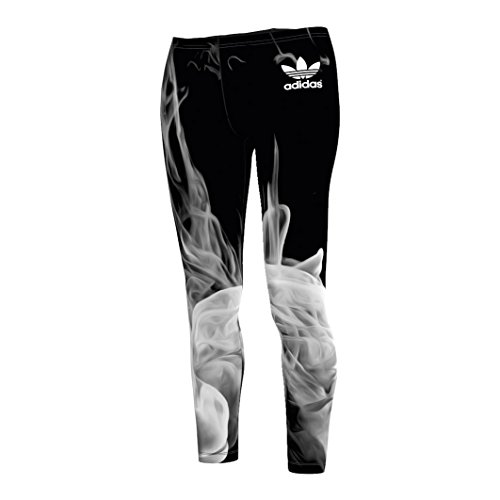 adidas Damen Leggings WHITE SMOKE