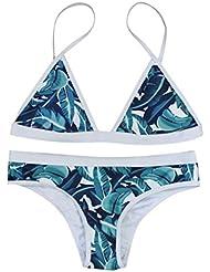 Verano Bikini SMARTLADY Mujeres Push-up Acolchado Bra Traje de baño