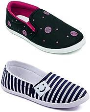 ASIAN Women's Denim Casual Shoes Combo Pack