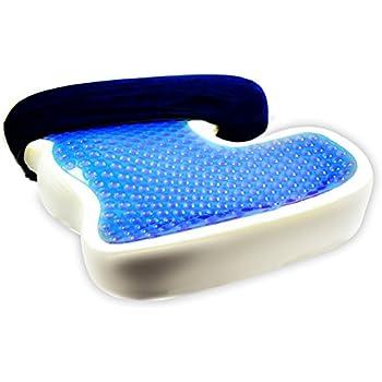 bonmedico large orthop disches h morrhoiden sitzkissen mit innovativer gel beschichtung f r. Black Bedroom Furniture Sets. Home Design Ideas
