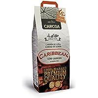 Carcoa Pro Caribbean - Carbón vegetal, 3 kg, color negro