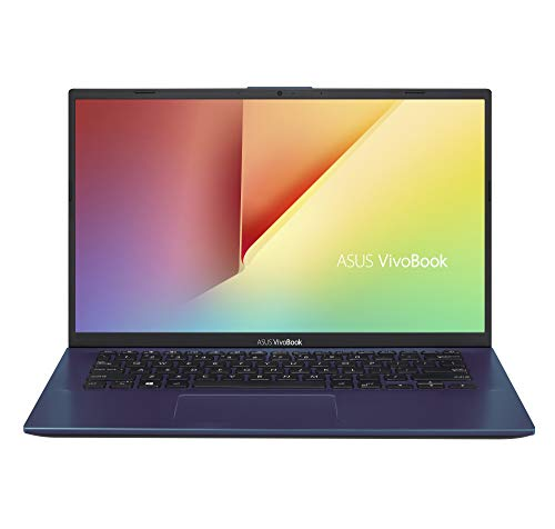 "Asus VivoBook S S412UA-EK461T PC Portable 14"" FHD (Intel Core i3-7020U, RAM 8Go, 128Go SSD, Windows 10 Home S) Clavier AZERTY Français"