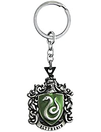 Techitry Harry Potter Slytherin Green Metal Keychain