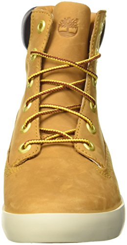 Timberland Flannery_Flannery_Flannery 6in, Baskets Basses Femme Jaune (Wheat)