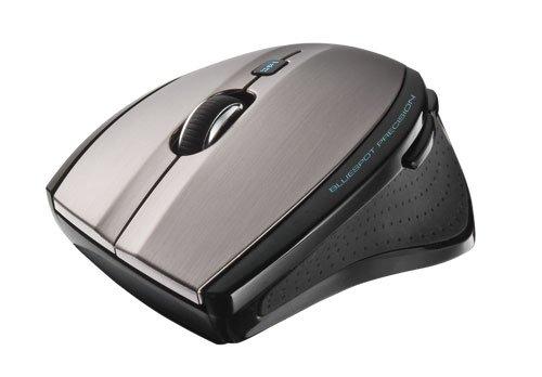 Mini 3d Optische Maus (Trust MaxTrack Optische schnurlos Maus Mini silber)