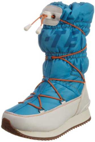 Hi-Tec New Moon 200, Damen Sportschuhe - Wintersport Blau (Hawian/White/Lemon/Lava)