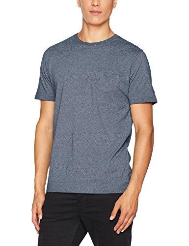 camel active Herren T-Shirt Blau (Marine Den 17)